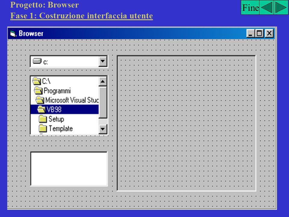 Fine Fase 3: Scrittura del codice di programmazione Private Sub optGiallo_Click() lblMessaggio.ForeColor = vbYellow End Sub Private Sub optNero_Click(