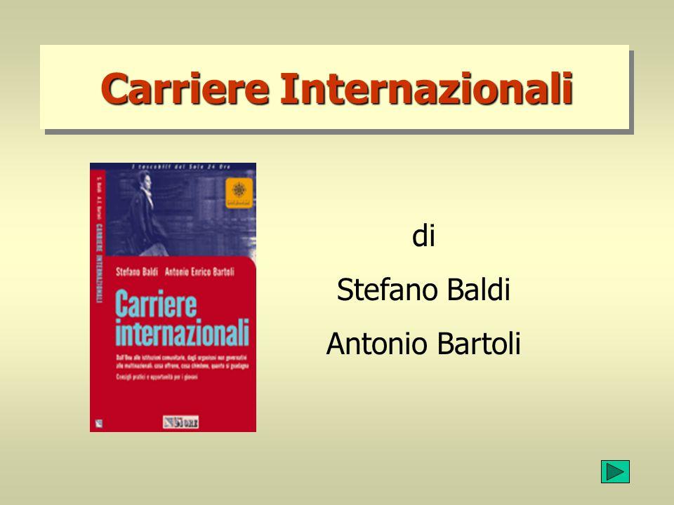 Carriere Internazionali di Stefano Baldi Antonio Bartoli