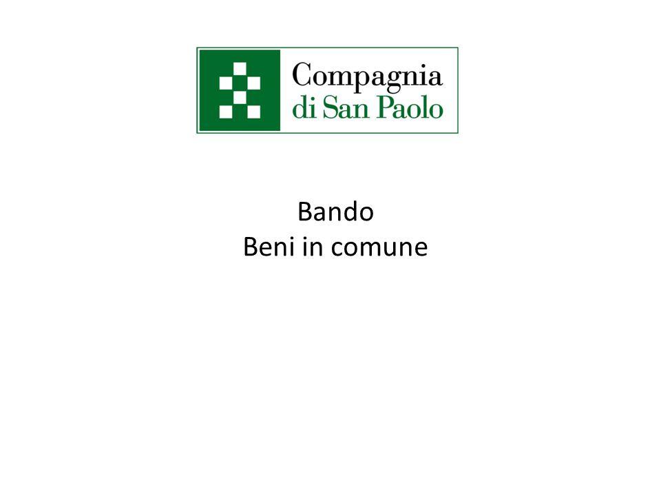 Bando Beni in comune