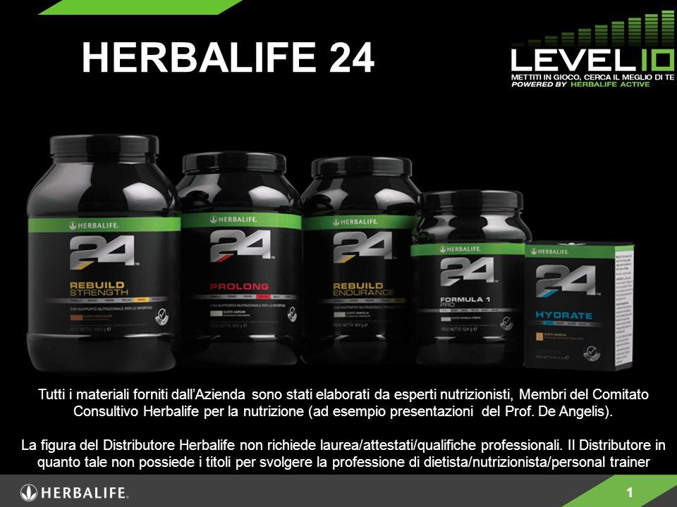 1 HERBALIFE 24 Tutti i materiali forniti dall'Azienda sono stati elaborati da esperti nutrizionisti, Membri del Comitato Consultivo Herbalife per la n