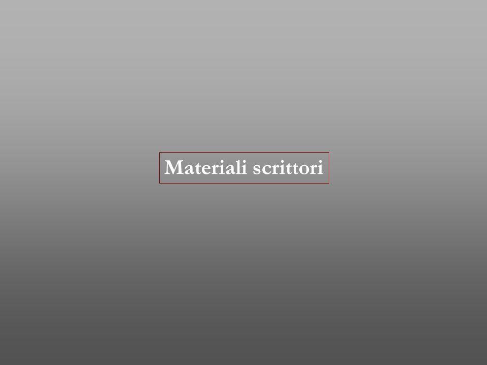 Materiali scrittori