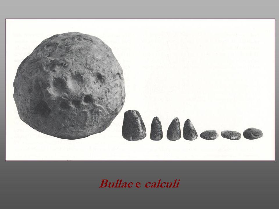 Vasetti campione da Alessandria d'Egitto.II sec. d.C.