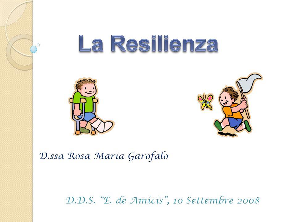 """D.ssa Rosa Maria Garofalo D.D.S. """"E. de Amicis"""", 10 Settembre 2008"""
