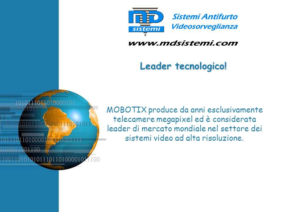 Free Powerpoint Templates MOBOTIX produce da anni esclusivamente telecamere megapixel ed è considerata leader di mercato mondiale nel settore dei sist