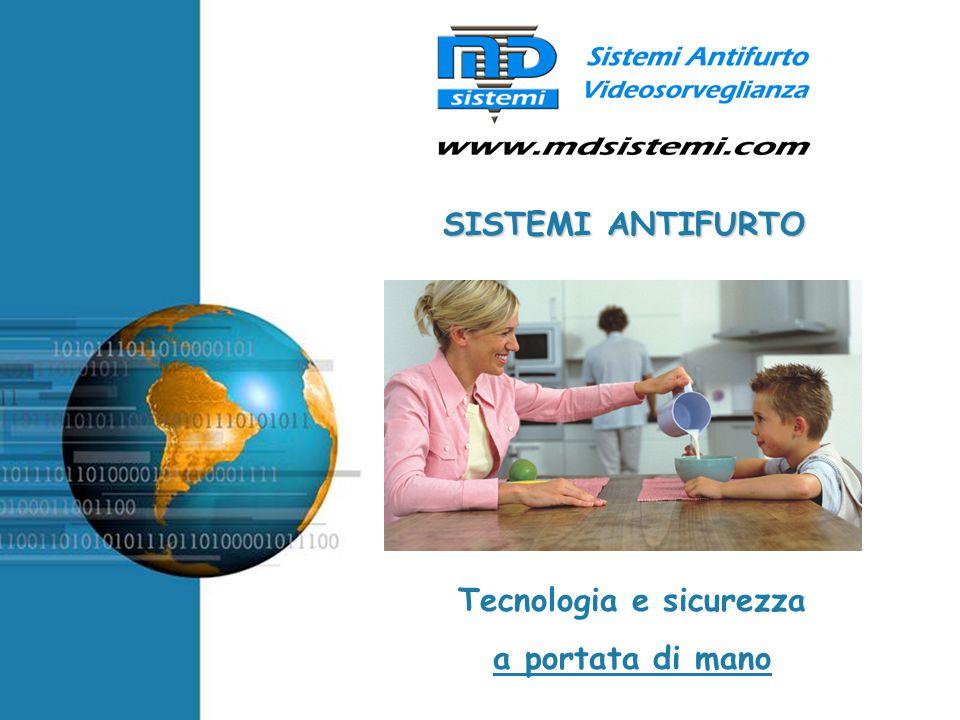 Free Powerpoint Templates SISTEMI ANTIFURTO Tecnologia e sicurezza a portata di mano