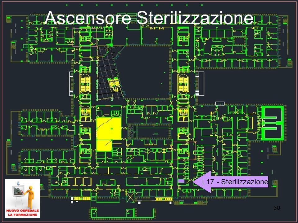 30 Ascensore Sterilizzazione L17 - Sterilizzazione