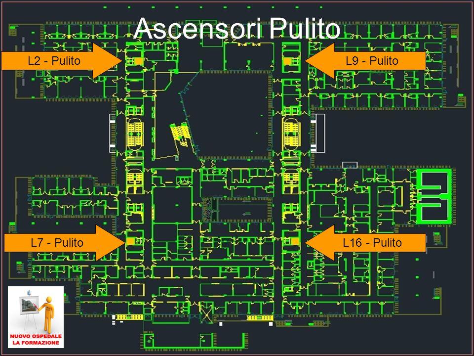 32 Ascensori Pulito L7 - Pulito L2 - PulitoL9 - Pulito L16 - Pulito