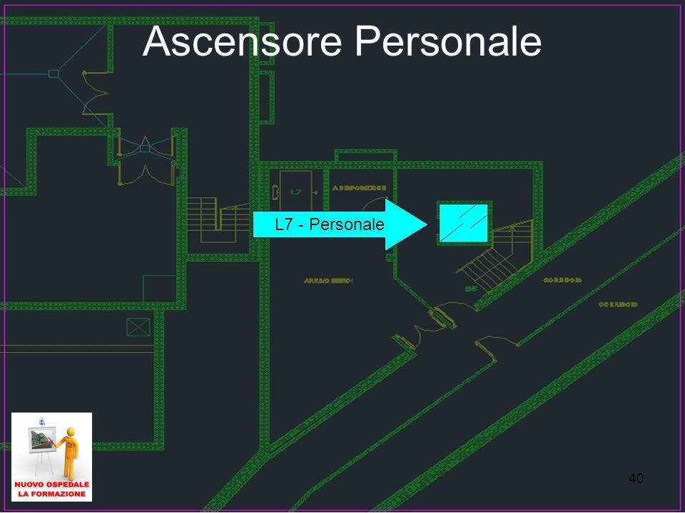 40 Ascensore Personale L7 - Personale