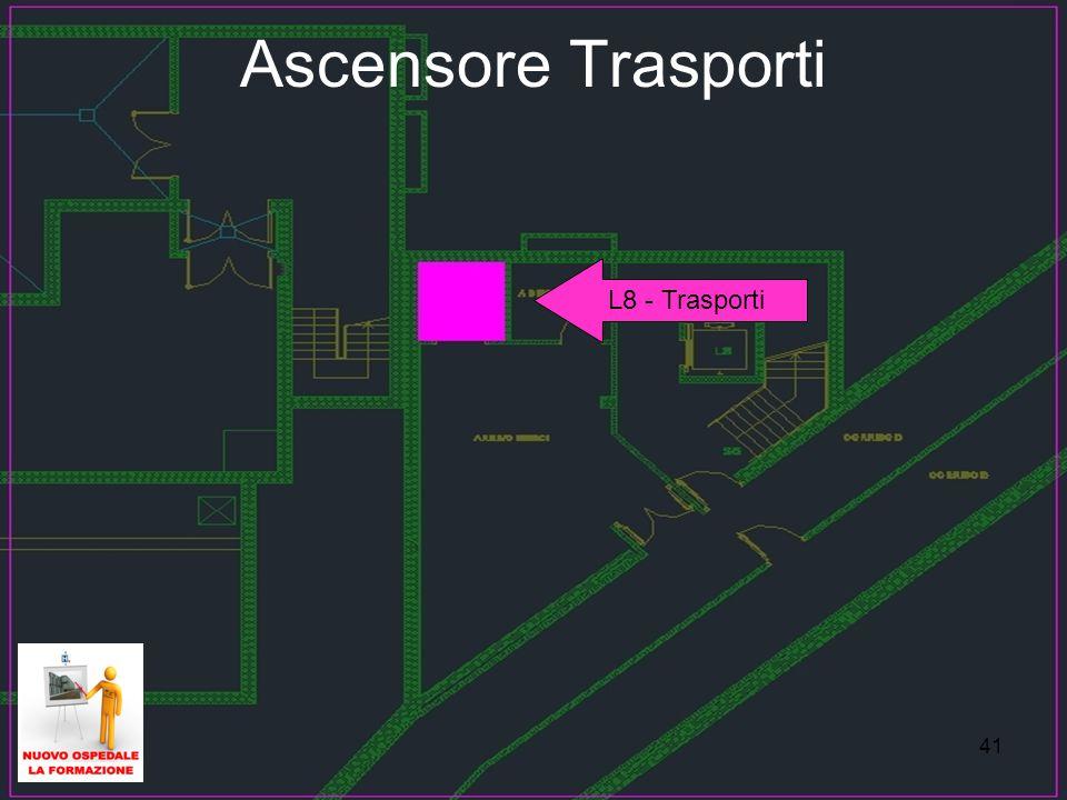 41 Ascensore Trasporti L8 - Trasporti