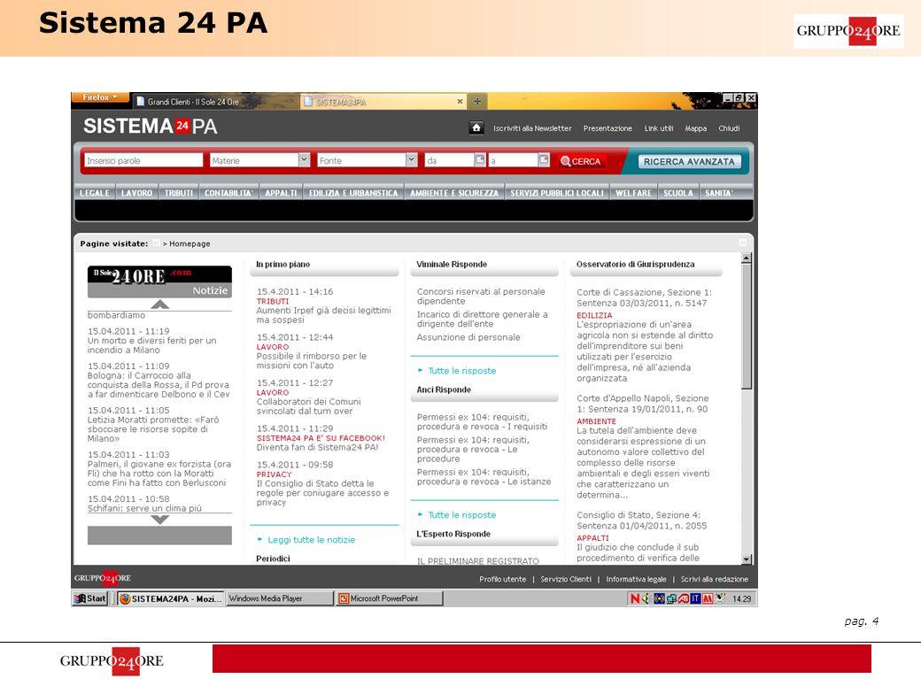 pag. 4 Sistema 24 PA