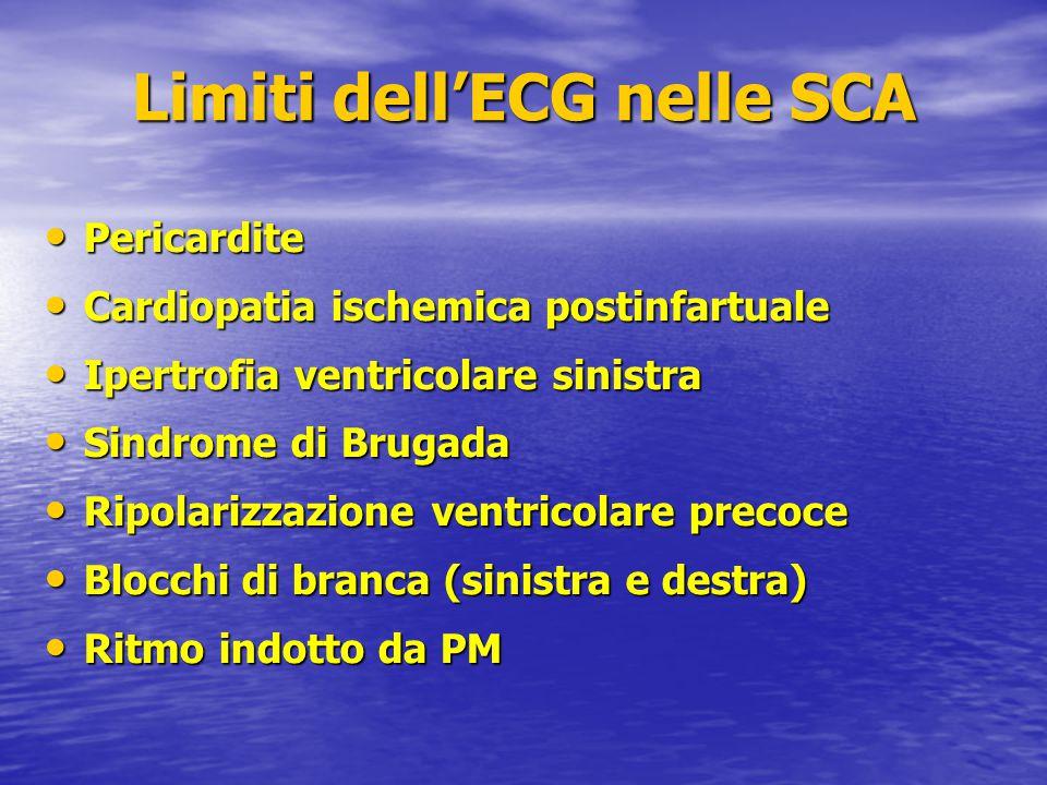 Pericardite Pericardite Cardiopatia ischemica postinfartuale Cardiopatia ischemica postinfartuale Ipertrofia ventricolare sinistra Ipertrofia ventrico
