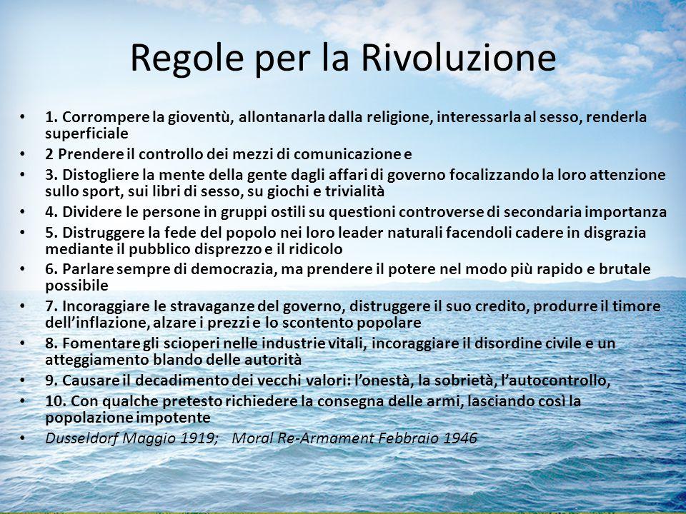 Regole per la Rivoluzione 1.