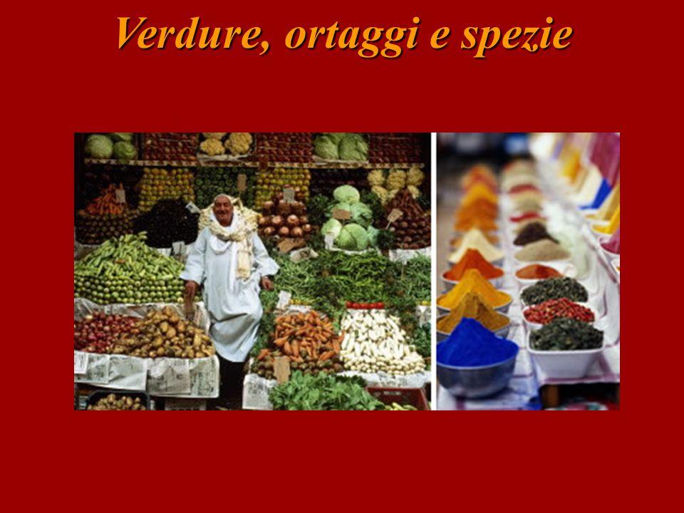 Verdure e ortaggi… l'insalata