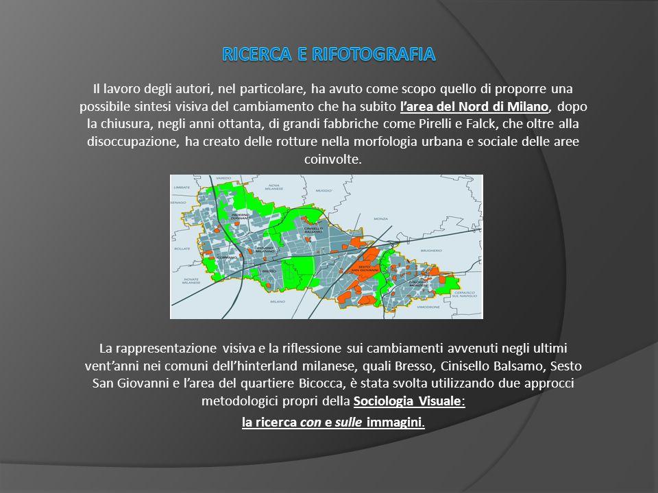 Per sociologia con le immagini si intende la ricerca che prevede la produzione o l'uso di immagini come dati per l'analisi dei comportamenti o come strumenti per raccogliere le informazioni .