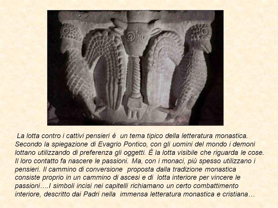 Evagrio Pontico elenca otto spiriti contro cui lottare.