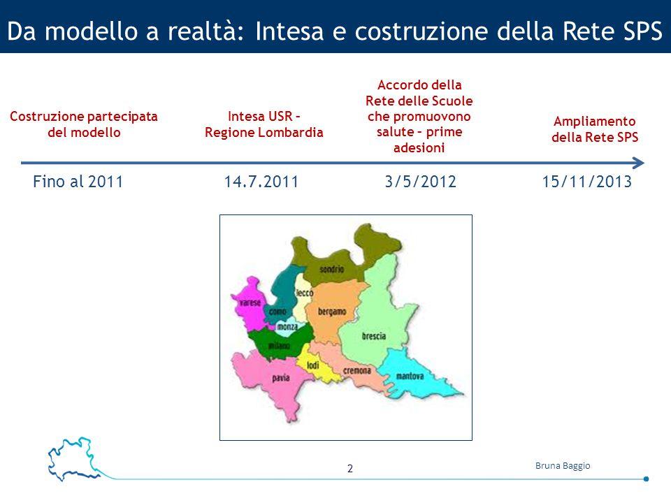 3 Bruna Baggio http://www.scuolapromuovesalute.it/ Il sito della rete