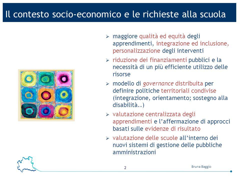 3 Bruna Baggio dal DPR 275/99 Regolamento dell'autonomia delle istituzioni scolastiche art.