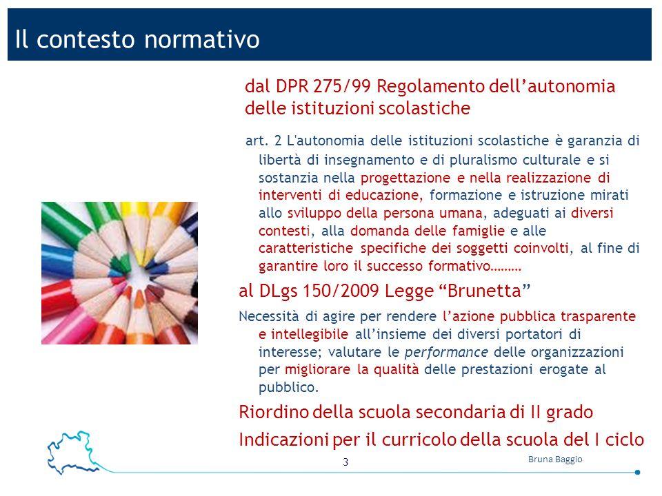 14 Bruna Baggio 365 schools (75 school boards) ; 1 regional school office ; 12 provincial school office 15territorial health agencies; 1 regional health office What actually happened.