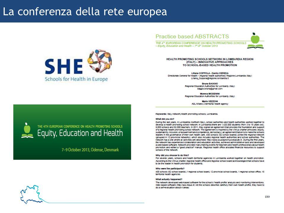 26 Bruna Baggio La conferenza della rete europea