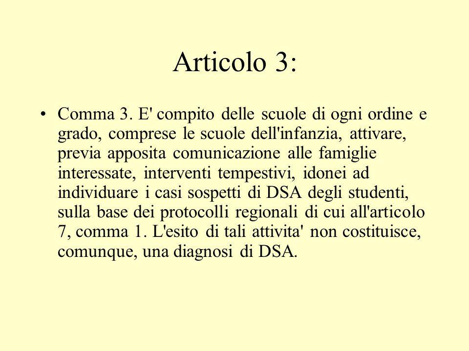 Articolo 3: Comma 3.