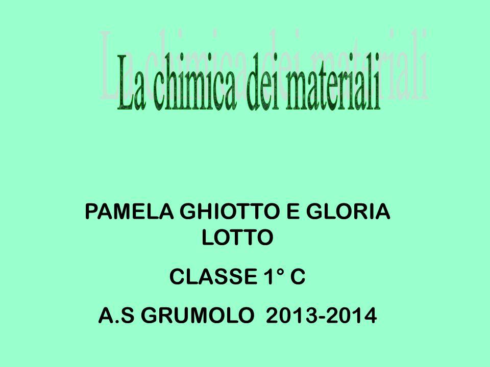 PAMELA GHIOTTO E GLORIA LOTTO CLASSE 1° C A.S GRUMOLO 2013-2014