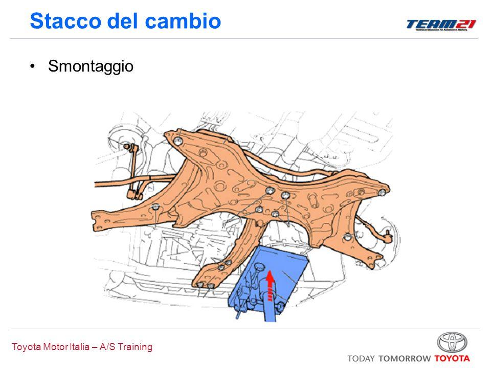 Toyota Motor Italia – A/S Training Stacco del cambio Smontaggio