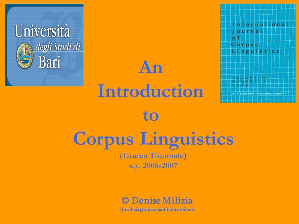 You can access CORIS/CODIS (CORpus di Italiano Scritto) at www.corpus.cilta.unibo.it:8080/coris_ita.html CORIS/CODIS has been available since September 2001.