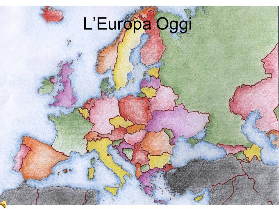 """Insegnare la Storia del XX secolo in dimensione Europea unità di apprendimento: """"La Nuova Geografia d'Europa"""""""