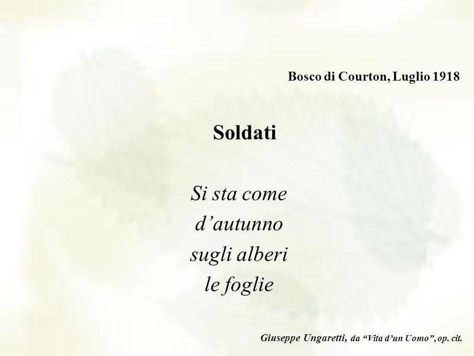 Dalla Storia alla Letteratura Abbiamo scelto alcune poesie di autori che hanno vissuto la guerra, come ad esempio Giuseppe Ungaretti, esponente di pun