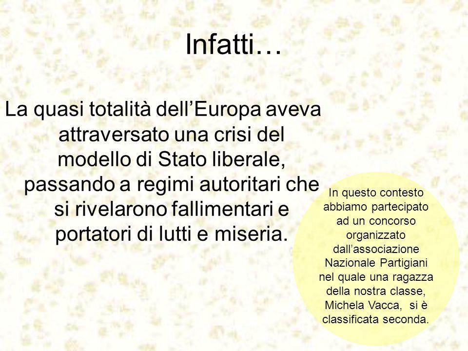 Bibliografia: R.Amato, La Società Possibile , Ed.Simone www.europa.eu.int www.novecento.org