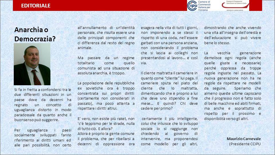 PROGETTI E COLLABORAZIONI ENTI PIEMONTESI IN UCRAINA ____________________________________________ Si è tenuto presso la Camera di Commercio di Torino un incontro tra i rappresentati della stessa, del CEIP e della Camera di Commercio Italiana Per l'Ucraina.
