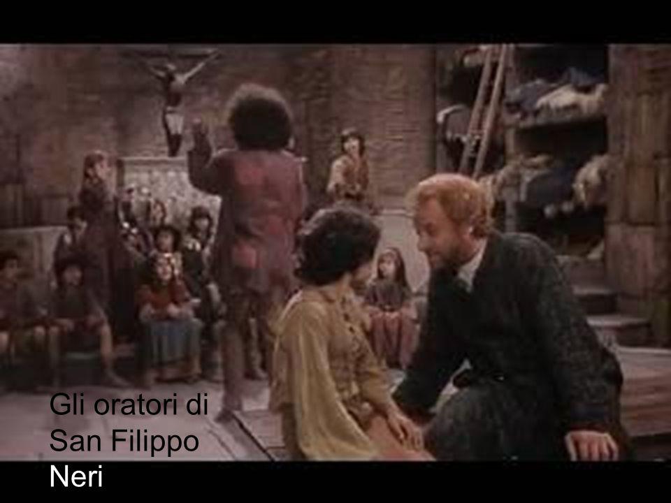 Gli oratori di San Filippo Neri