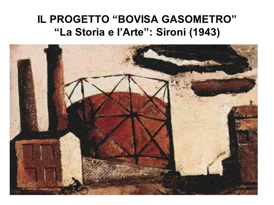 IL PROGETTO BOVISA GASOMETRO La Storia e l'Arte : Sironi (1943)