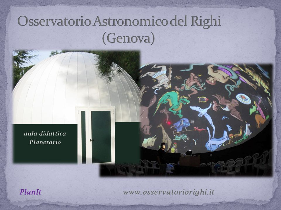 www.osservatoriorighi.it PlanIt