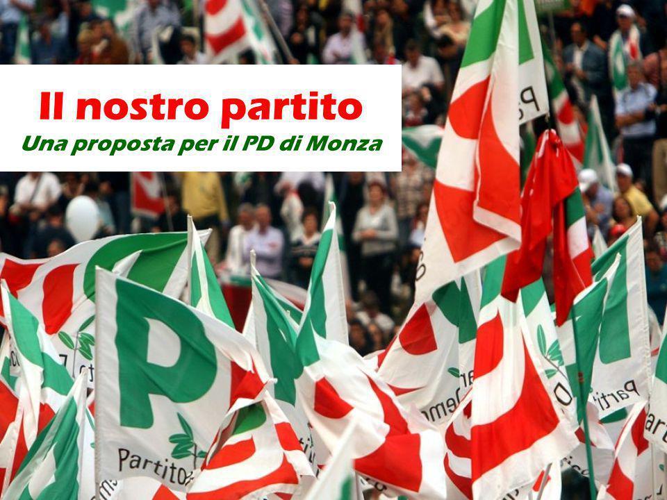 Il nostro partito Una proposta per il PD di Monza