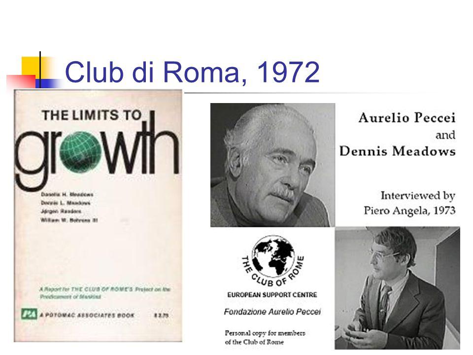 Club di Roma, 1972