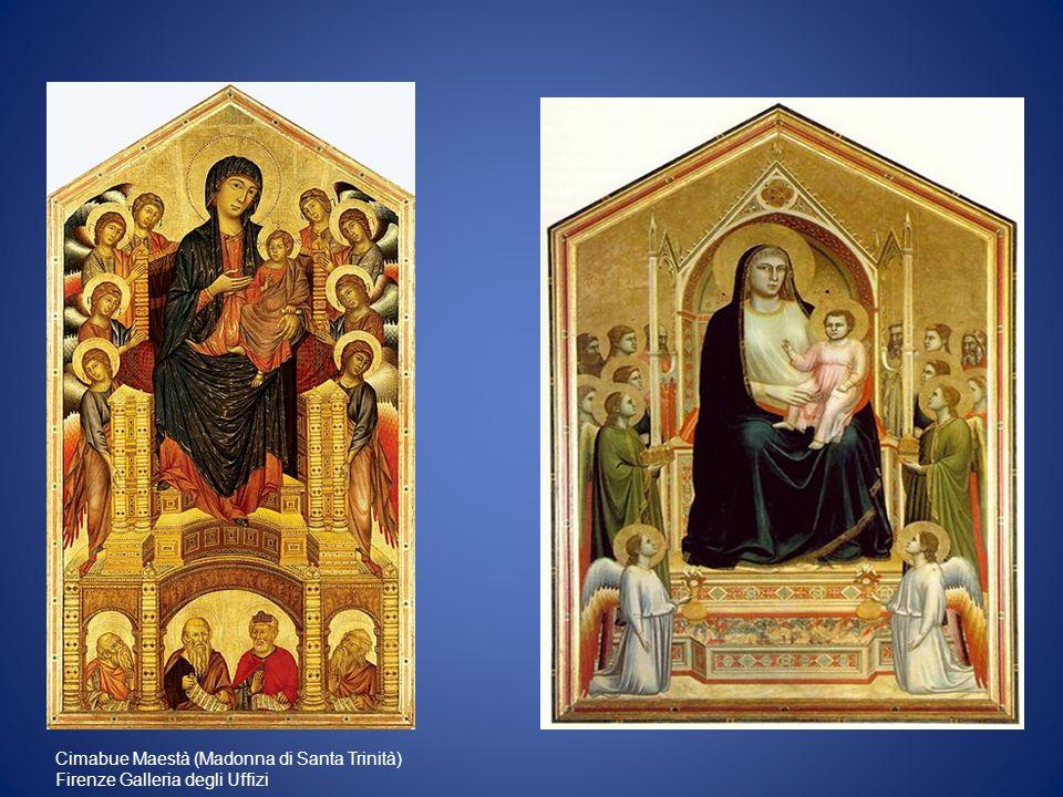 Madonna di Ognissanti, ca 1310, tempera e oro su tavola, 325 x 204.