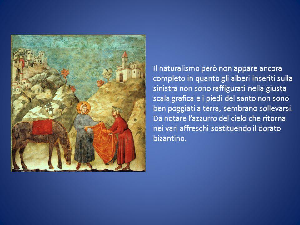 Giotto, che collaborò con Cimabue in gioventù, è colui che ha portato nella pittura italiana importanti novità: Verosimiglianza nella raffigurazione dei personaggi.