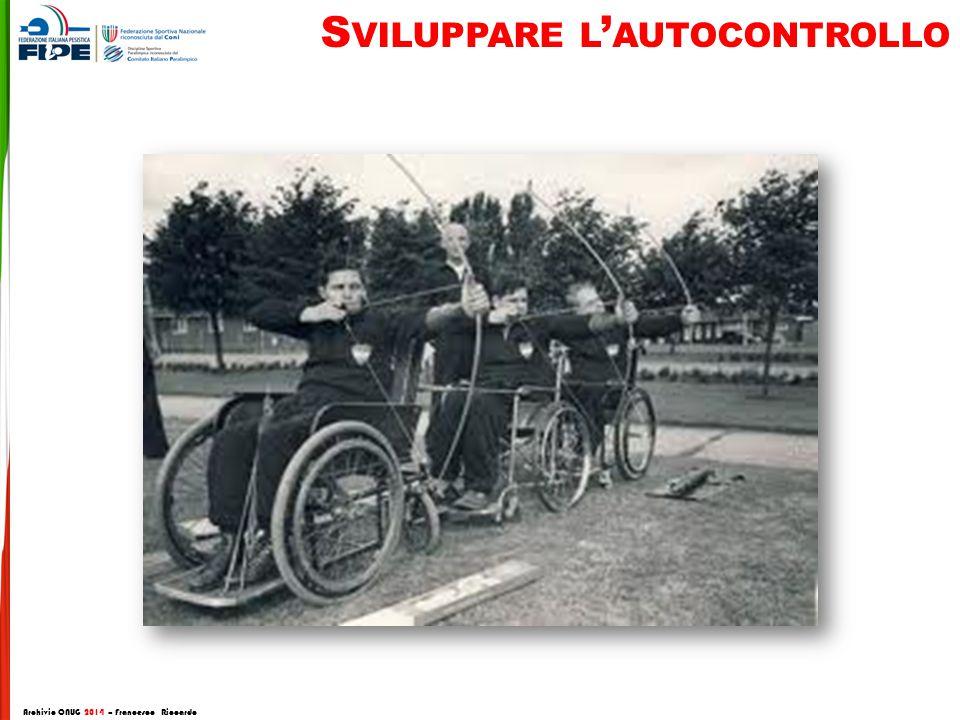 S VILUPPARE L ' AUTOCONTROLLO Archivio CNUG 2014 – Francesco Riccardo