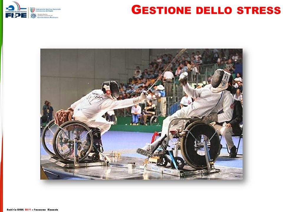 G ESTIONE DELLO STRESS Archivio CNUG 2014 – Francesco Riccardo