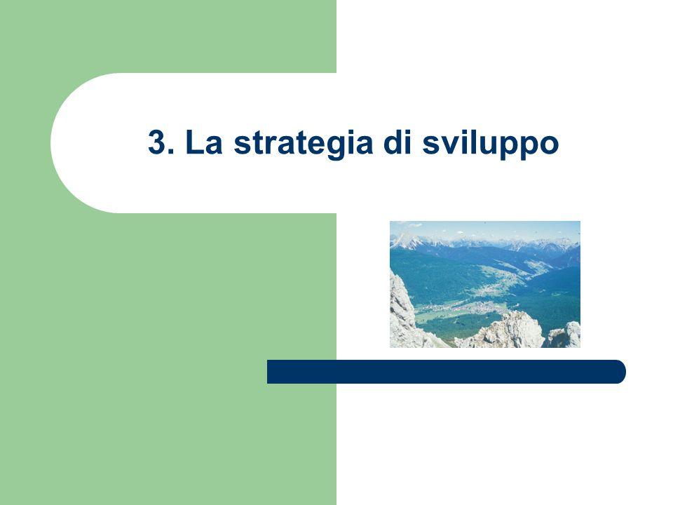 3. La strategia di sviluppo
