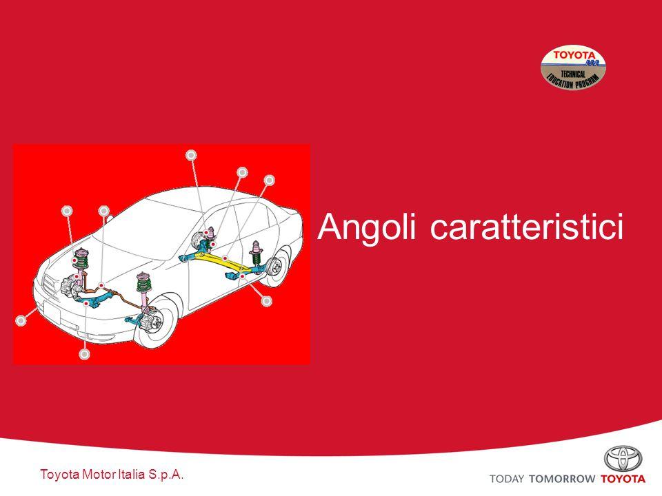 Toyota Motor Italia S.p.A. Angoli caratteristici