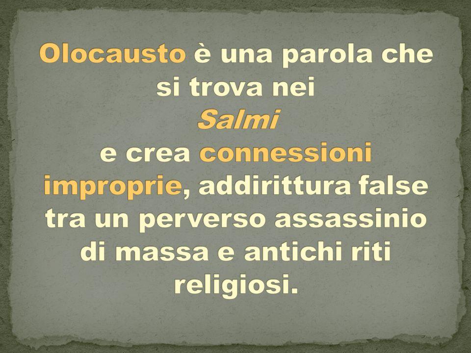 Le notizie sulle persecuzioni Durante l'occupazione nazista e la Repubblica sociale italiana circolano notizie sulle persecuzioni e sulla sorte degli ebrei deportati.
