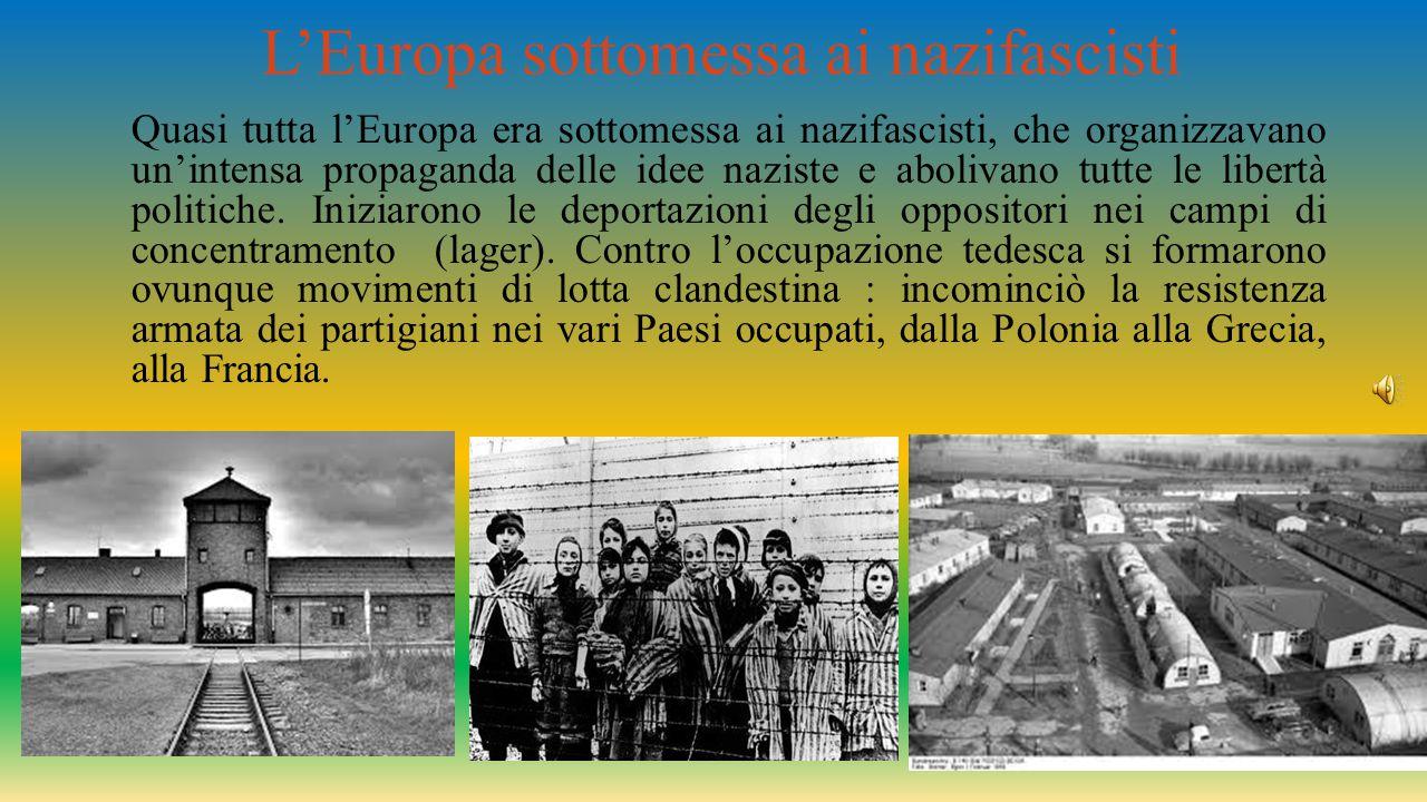 I lager I tedeschi deportavano nei lager prigionieri politici, zingari, omosessuali, ma soprattutto Ebrei, che arrivavano da ogni parte d'Europa in convogli ferroviari composti da carri merci.