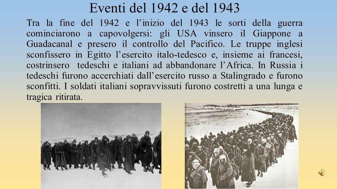 Pietro Badoglio In Italia le truppe anglo-americane sbarcarono in Sicilia (luglio 1943).