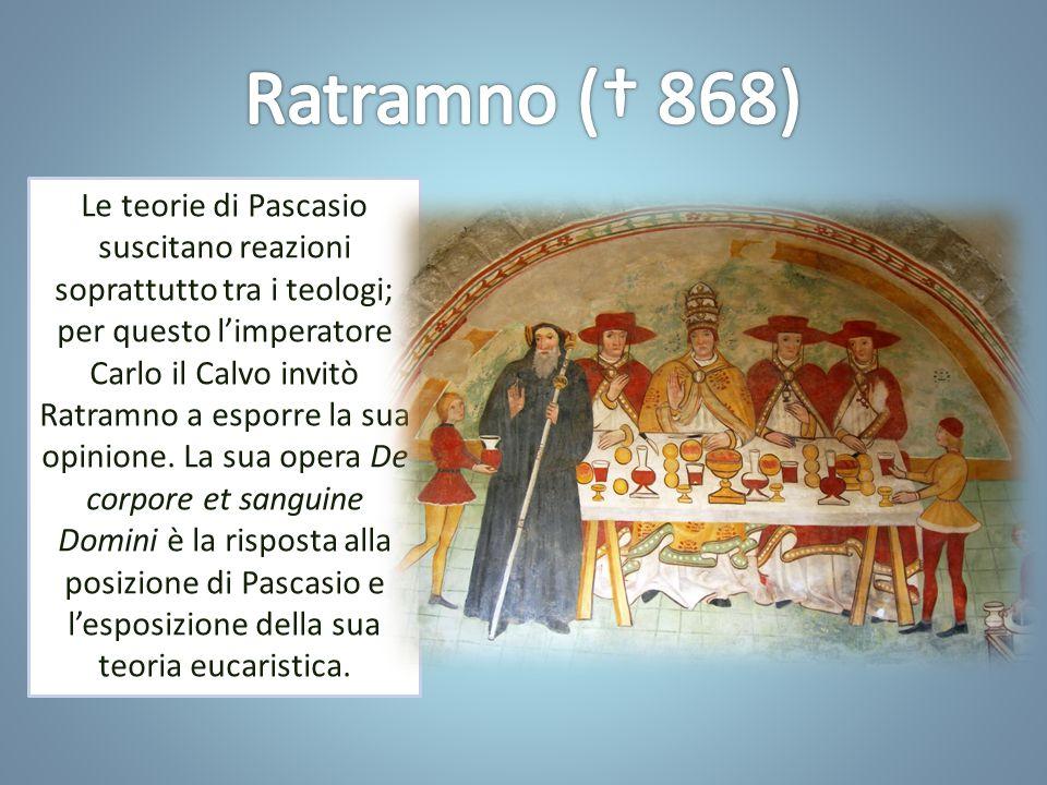 Con le controversie eucaristiche dei secoli IX-XI, si inaugura un modo nuovo di comprendere l'Eucaristia.