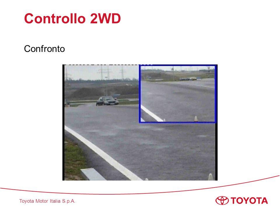 Toyota Motor Italia S.p.A. Controllo 2WD Confronto