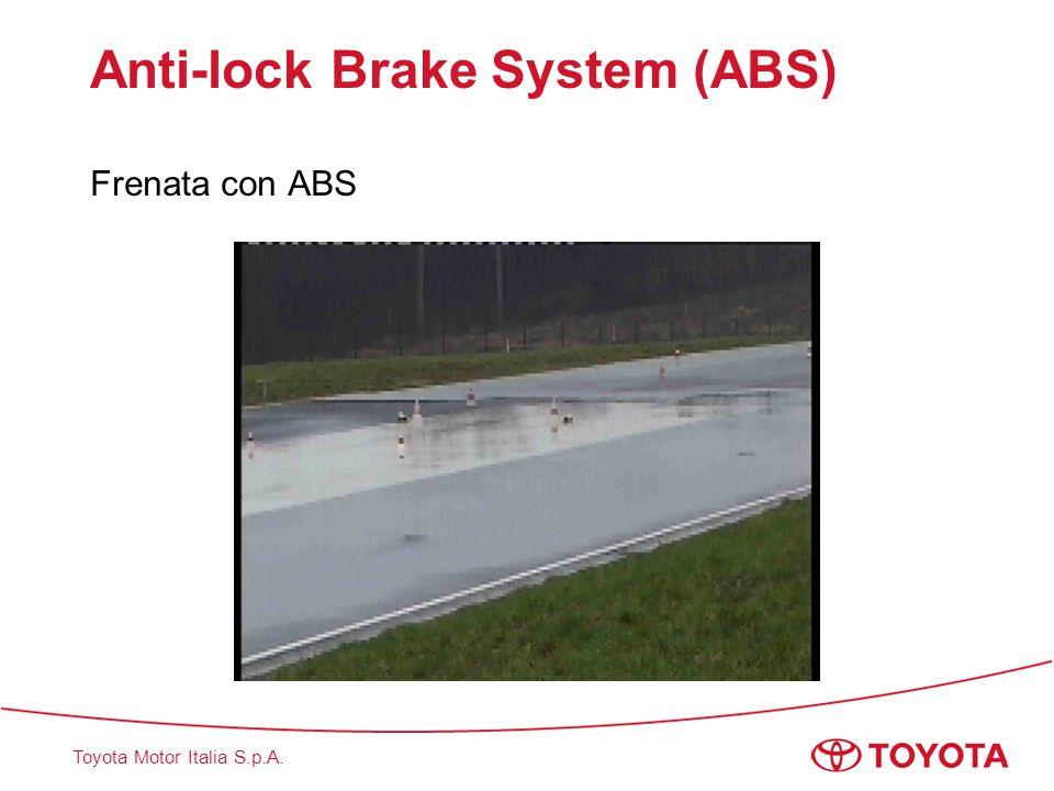 Toyota Motor Italia S.p.A. Anti-lock Brake System (ABS) Frenata con ABS