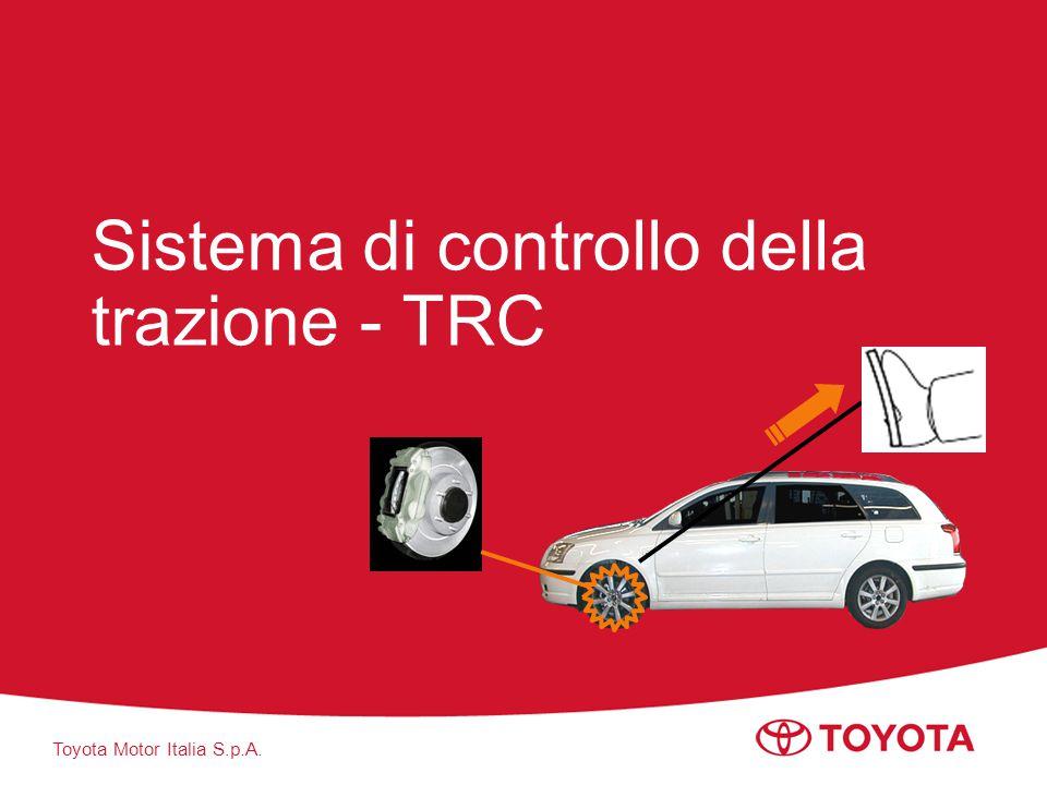 Toyota Motor Italia S.p.A. Sistema di controllo della trazione - TRC
