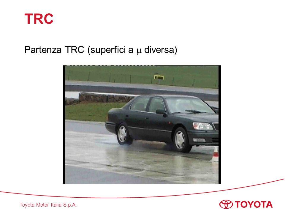 Toyota Motor Italia S.p.A. TRC Partenza TRC (superfici a  diversa)